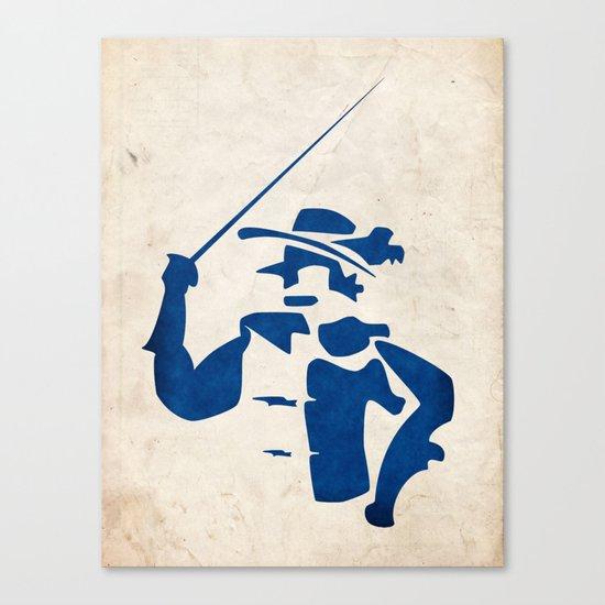 Cyrano de Bergerac - Digital Work Canvas Print