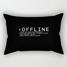 OFFLINE Rectangular Pillow