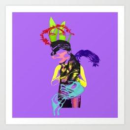 Lauren Cohan Art Print