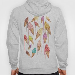 melted ice creams Hoody