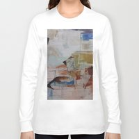 broadway Long Sleeve T-shirts featuring Broadway East No.17 by Xi By Xi Chen
