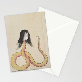 SARA HEBI / SNAKE WOMAN - ARTIST UNKNOWN Stationery Cards
