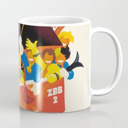 Zugerberg,Switzerland Vintage Ski Travel Poster Coffee Mug