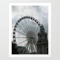 Belfast Art Print