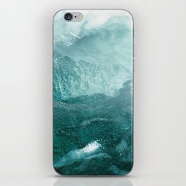 Sea Waves In Italy iPhone Skin
