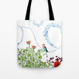 Meadow scene (full) Tote Bag