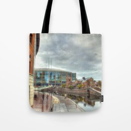Barclaycard Arena and the Malt House Pub Tote Bag