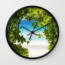 PARADISE PATHWAY Wall Clock