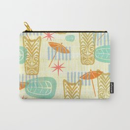 TIKI On The Beach Carry-All Pouch