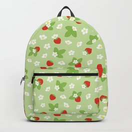 Beautiful strawberry blossom Backpack