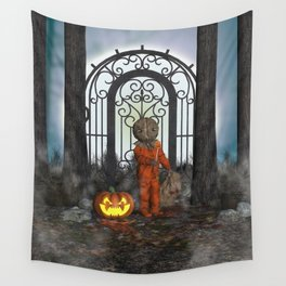 Trick R Treat Wall Tapestry