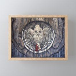 Embrace Fear Framed Mini Art Print