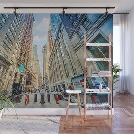 Wall Street Wall Mural