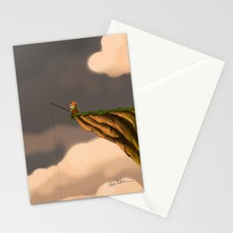 Fishing in the Clouds Stationery Cards