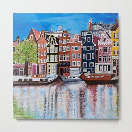 Beautiful Amsterdam Metal Print