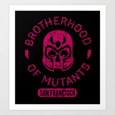 Bad Boy Club: Brotherhood of Mutants  Art Print