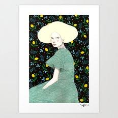 Iva Art Print