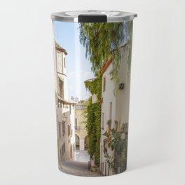 Beautiful Spanish Village Travel Mug