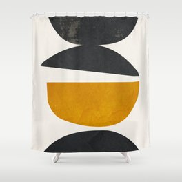 abstract minimal 23 Shower Curtain