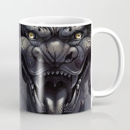 Foo Lion Dog Mask Coffee Mug