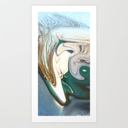 The Barely Muted Wrath of Oulixeus Art Print