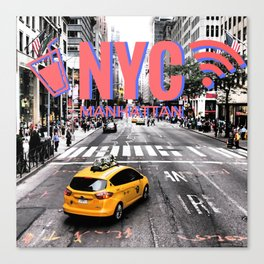 NYC | 3D Anaglyph Canvas Print