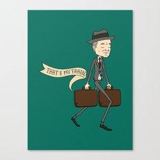 The Businessman Canvas Print