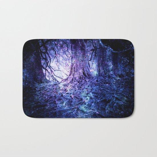 The Wishing Tree : Purple Blue Bath Mat