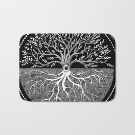 Druid Tree of Life Bath Mat