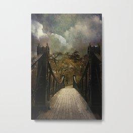 Victorian Footbridge Metal Print