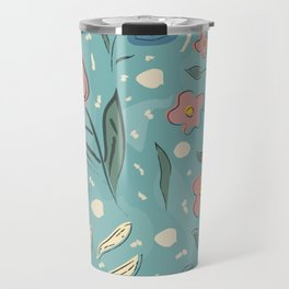 Flowers of Magical Forest Travel Mug