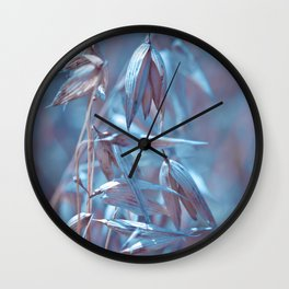 BLUE OAT Wall Clock