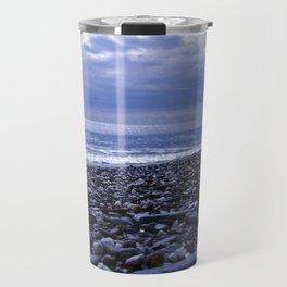 BLUE BEACH of SICILY Travel Mug