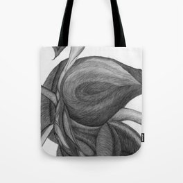 The Dream in Black and White Tote Bag
