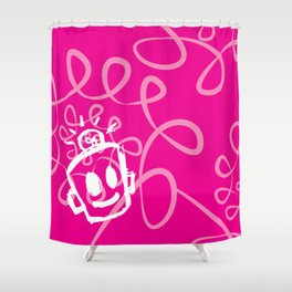 Breast Cancer Awareness Shower Curtain