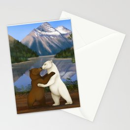 Love has no boundaries Stationery Cards