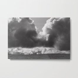 Dramatic Clouds Photograph Metal Print