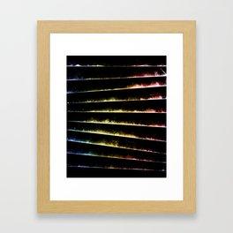 α Cen Framed Art Print