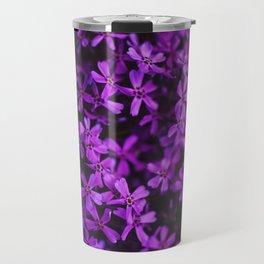 Flowers in Purple, Ultra Violet Travel Mug