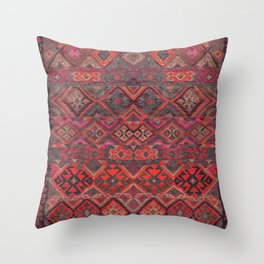 Traditional Oriental Moroccan Design C3 Throw Pillow