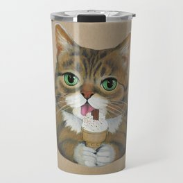 Lil Bub - famous cat Travel Mug