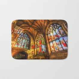 Evening Sun Cathedral Bath Mat