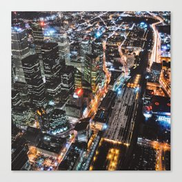 Throwback TO CN Tower Views 2006 (Square) Canvas Print