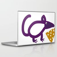 cheese Laptop & iPad Skins featuring Cheese? by Stephanie Cole CREATIONS