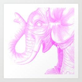 the party animal Art Print