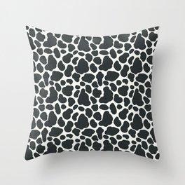 Cow Spots Throw Pillow