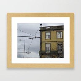 Foz: Wires Framed Art Print
