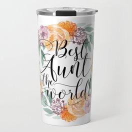 Best Aunt in the World Travel Mug