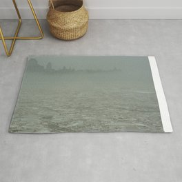 Ghost city Rug