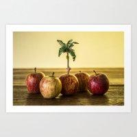 Private island - Encolhi as Pessoas Art Print